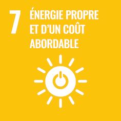 7 Énergie propre et d'un coût abordable